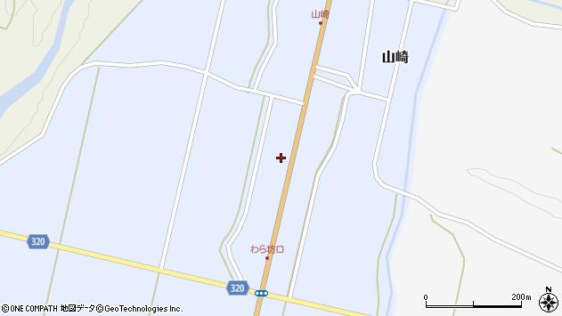 山形県最上郡金山町山崎28周辺の地図