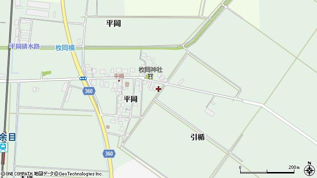 山形県東田川郡庄内町平岡平岡59周辺の地図