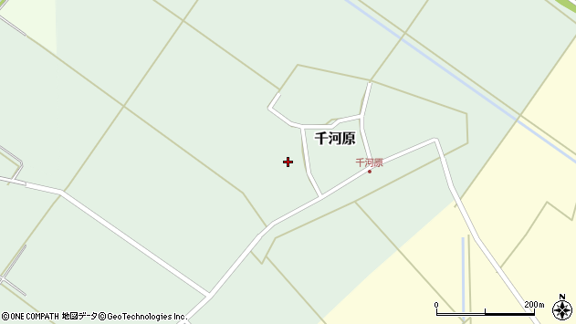 山形県東田川郡庄内町千河原前野114周辺の地図