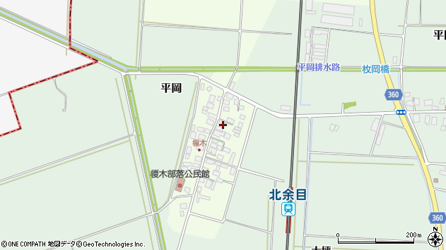 山形県東田川郡庄内町榎木小金台36周辺の地図