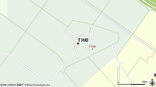 山形県東田川郡庄内町千河原前野95周辺の地図