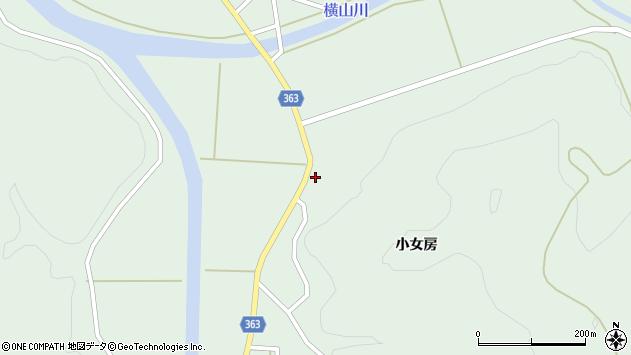 山形県酒田市田沢小女房44周辺の地図