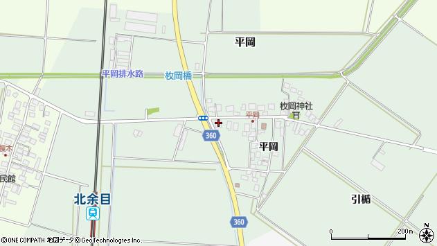 山形県東田川郡庄内町平岡平岡28周辺の地図