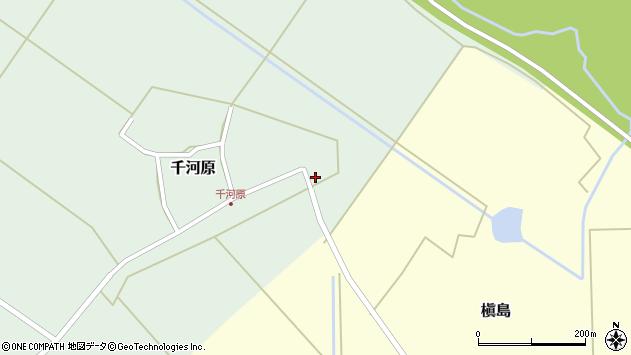 山形県東田川郡庄内町千河原前野187周辺の地図