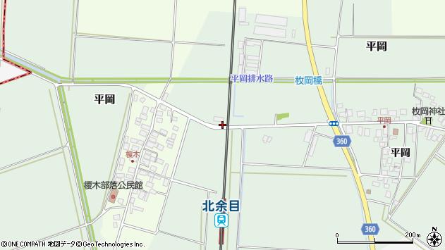 山形県東田川郡庄内町平岡大坪169周辺の地図