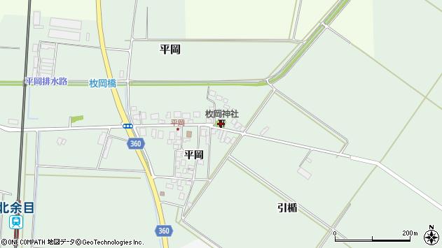 山形県東田川郡庄内町平岡平岡1周辺の地図