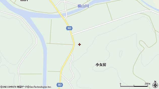 山形県酒田市田沢小女房45周辺の地図