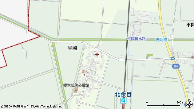 山形県東田川郡庄内町榎木小金台42周辺の地図