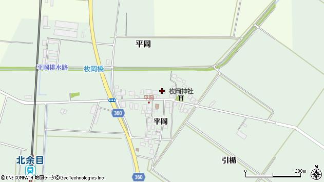 山形県東田川郡庄内町平岡平岡42周辺の地図