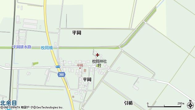 山形県東田川郡庄内町平岡平岡6周辺の地図