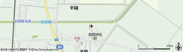 山形県東田川郡庄内町平岡平岡8周辺の地図
