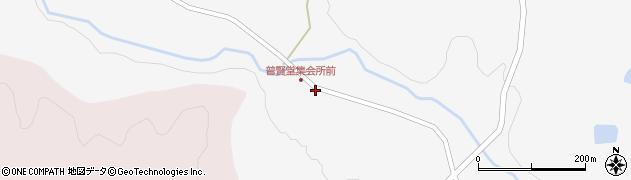 宮城県栗原市金成普賢堂要害周辺の地図