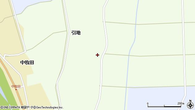 山形県酒田市引地宅地74周辺の地図
