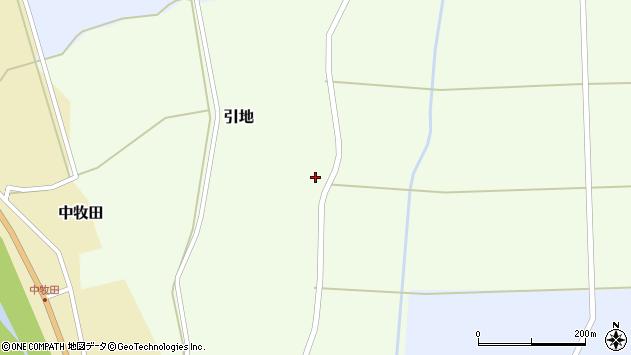山形県酒田市引地宅地75周辺の地図