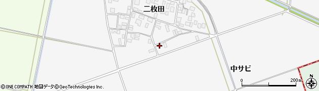 山形県酒田市丸沼中サビ49周辺の地図
