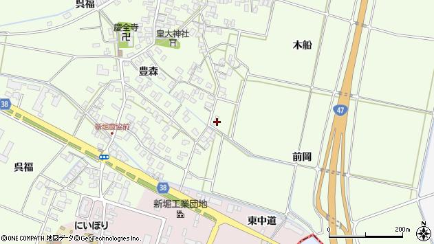 山形県酒田市新堀前岡211周辺の地図