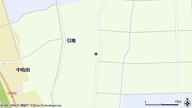 山形県酒田市引地宅地80周辺の地図
