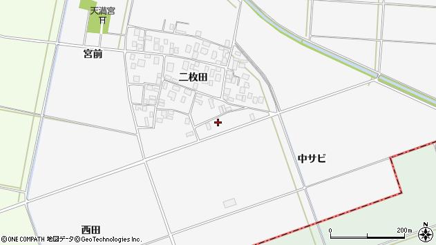 山形県酒田市丸沼中サビ50周辺の地図