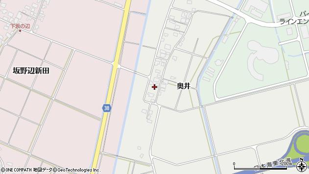 山形県酒田市広野奥井210周辺の地図