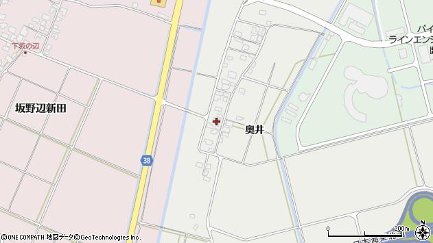 山形県酒田市広野奥井211周辺の地図