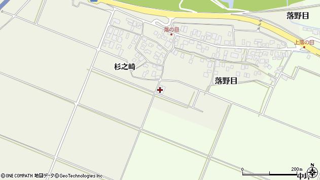 山形県酒田市落野目加久地198周辺の地図