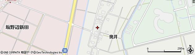 山形県酒田市広野奥井215周辺の地図