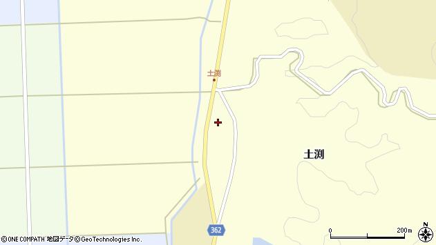 山形県酒田市土渕新田町77周辺の地図
