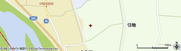 山形県酒田市中牧田前田163周辺の地図