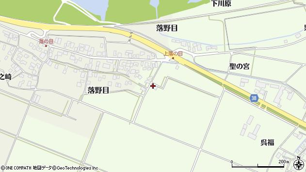 山形県酒田市新堀聖の宮186周辺の地図