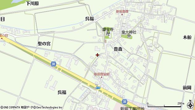 山形県酒田市新堀呉福69周辺の地図