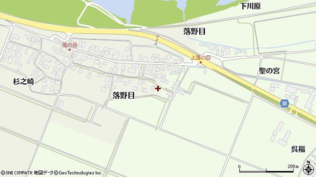 山形県酒田市落野目十寸穂104周辺の地図
