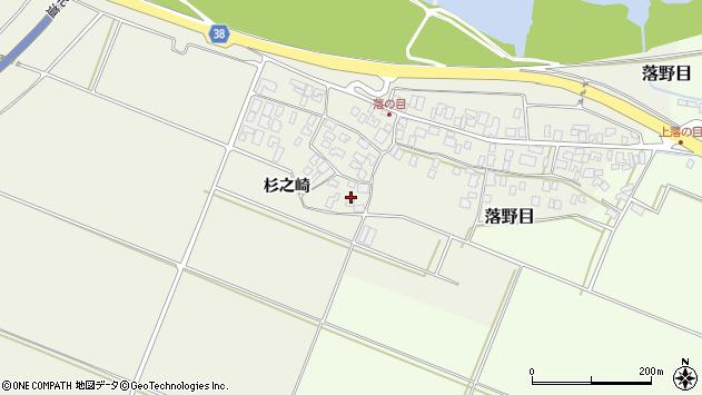 山形県酒田市落野目十寸穂7周辺の地図