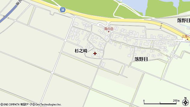 山形県酒田市落野目十寸穂6周辺の地図
