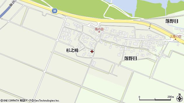 山形県酒田市落野目十寸穂10周辺の地図