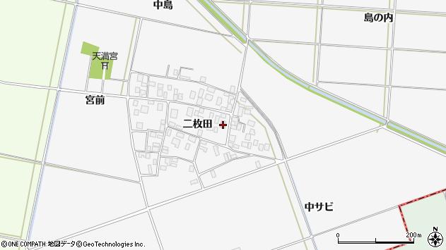 山形県酒田市丸沼二枚田63周辺の地図
