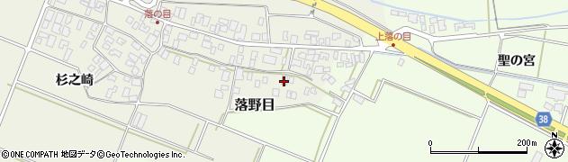 山形県酒田市落野目十寸穂83周辺の地図
