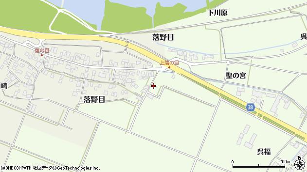 山形県酒田市新堀聖の宮周辺の地図