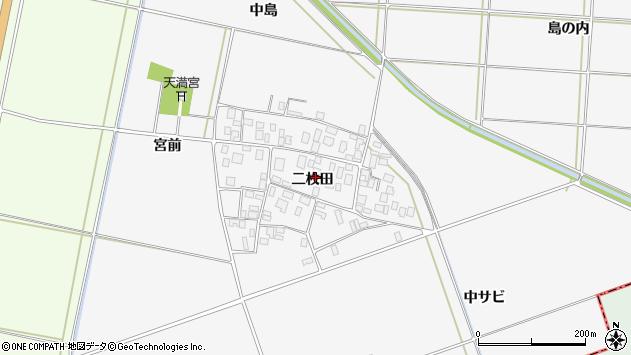 山形県酒田市丸沼二枚田58周辺の地図