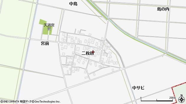 山形県酒田市丸沼二枚田61周辺の地図
