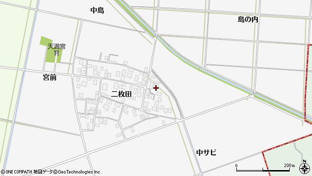 山形県酒田市丸沼二枚田69周辺の地図