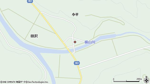 山形県酒田市田沢道ノ外周辺の地図