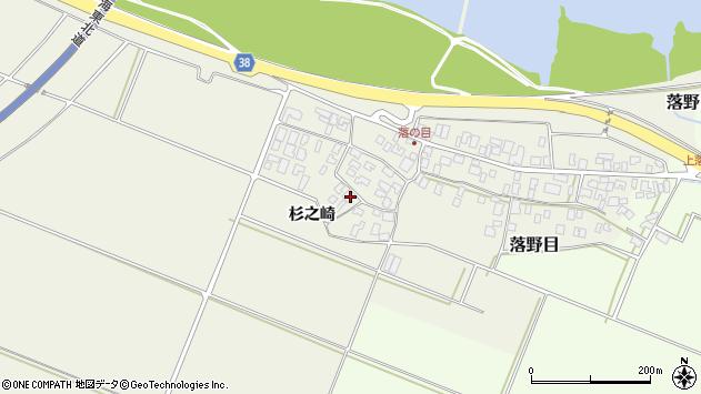 山形県酒田市落野目十寸穂2周辺の地図