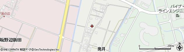 山形県酒田市広野奥井222周辺の地図