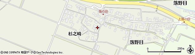 山形県酒田市落野目十寸穂22周辺の地図
