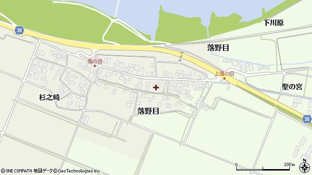 山形県酒田市落野目十寸穂73周辺の地図