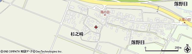 山形県酒田市落野目十寸穂21周辺の地図
