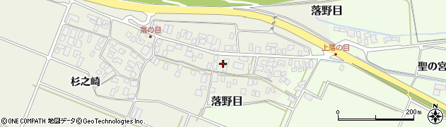 山形県酒田市落野目十寸穂65周辺の地図