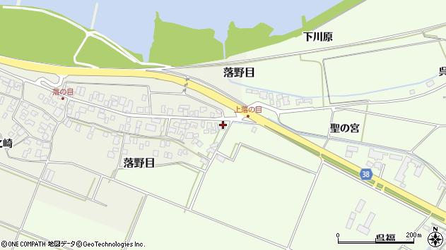 山形県酒田市新堀聖の宮110周辺の地図