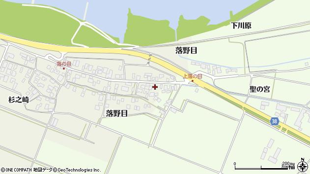 山形県酒田市落野目十寸穂111周辺の地図