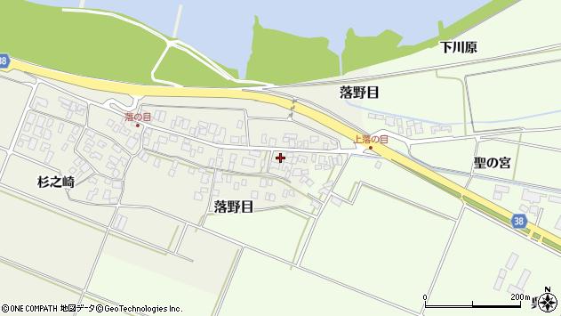 山形県酒田市落野目十寸穂89周辺の地図
